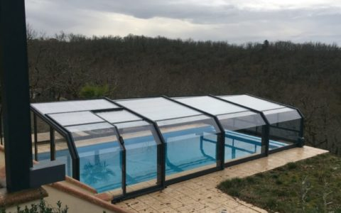 protection abri haut piscine