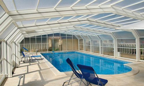 protection haut piscine