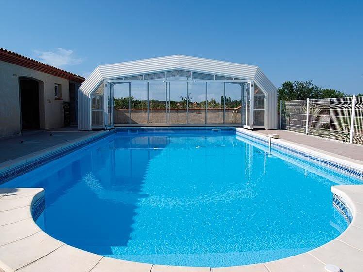 Abris haut piscine